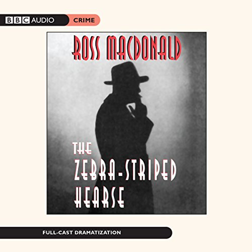 The Zebra-Striped Hearse     Lew Archer, Book 10              By:                                                                                                                                 Ross Macdonald                               Narrated by:                                                                                                                                 Edward Asner,                                                                                        Kathryn Harrold,                                                                                        Jennifer Tilly,                   and others                 Length: 8 hrs and 1 min     7 ratings     Overall 4.4