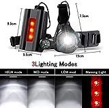 Zoom IMG-2 running light ricaricabile usb sgodde