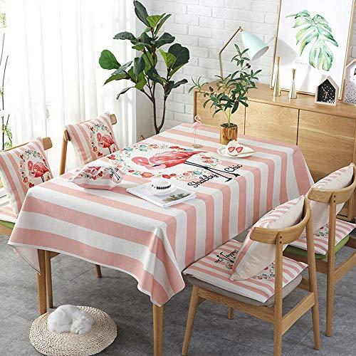 Rechthoekig tafelkleed/keukentafelkleed linnen, dik waterdicht en niet-vervagend, tafelblad tafel, ideaal voor keukenblad Buffet Decoratie AA~