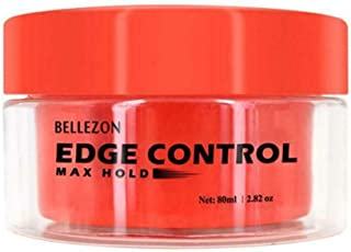 Berryhot Moisture & Shine Edge Control Smoother For Dry Hair and Dull Hair, with Aloe and Honey, Clear Edge Smoother, Edge Tamer (Red)