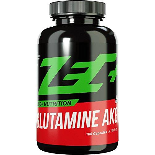 Zec+ Unflavored Glutamine AKG, 180 Stück, 207.7gm