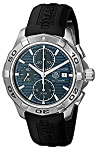 TAG Heuer Men's CAP2112.FT6028 Aquaracer Blue Chronograph Dial Watch Review and Buy NOW!!! and review image