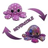 DENGZI Peluche de Pulpo Reversible-Bonitos Juguetes de Peluche muñeco de peluche juguetes creativos el Pulpo Reversible Original de Felpa Regalos de Juguete para niños Navidad Linda Cumpleaños