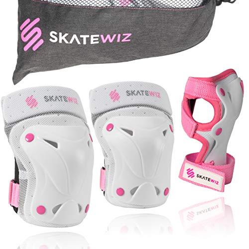 SKATEWIZ Protect-1 Schutzausrüstung Größe XS in ROSA