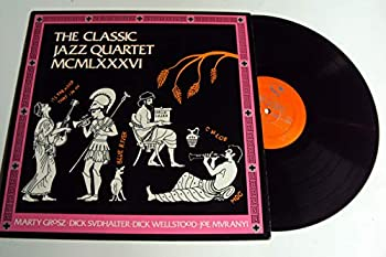 THE CLASSIC JAZZ QUARTET MCMLXXXVI - vinyl lp WOULDN T IT BE LOVELY - BLUE RIVER - HALLELUJAH - THE MOOD THAT I M IN - INKA DINKA DOO AND OTHERS.