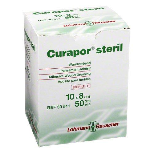 CURAPOR Wundverband steril chirurgisch 8x10 cm 50 St