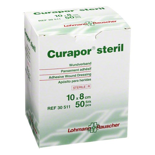 CURAPOR Wundverband steril chirurgisch 8x10 cm 50 St