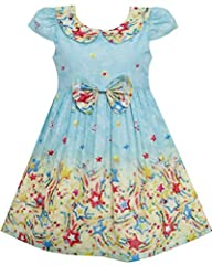 Size for Girls 7 Years Chest:26.0'' Waist:24.4'' Length:27.6'' Cotton Blend