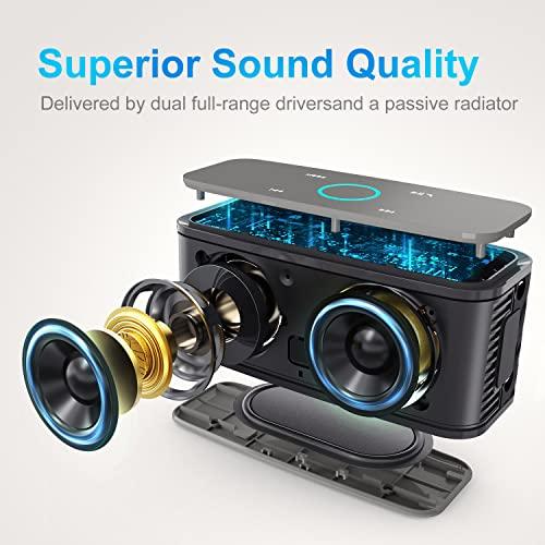 Haut-parleurs Bluetooth 4.0 portables sans fil SoundBox DOSS - 1