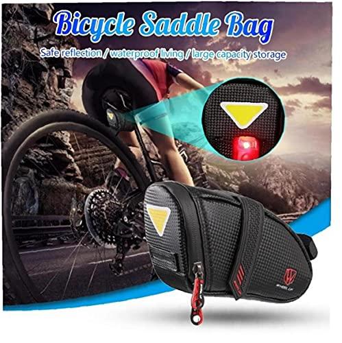 Froiny Bicicleta a Prueba De Agua Bolsa De Sillín De La Bici Impermeable Almacenamiento De Una Silla del Asiento del Bolso De Ciclo De Trasera De La Bolsa De La Silla De Montar Accesorios De La Bici