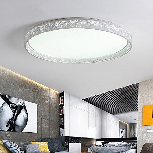5151BuyWorld Led-plafondlamp, smal, modern, plafondlamp, voor woonkamer, keuken, slaapkamer, binnen, hoogwaardige kwaliteit