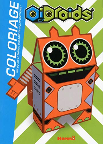 OiDroids Coloriage (French Edition)