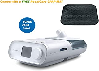 Philips_Respironics_DreamStation_Auto_CPAP Machine-with_Heated_Humidifier, Filter, SD Card, Carrying Case, Manual Book and_RespiCare-CPAP-MAT -DSX500