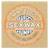 Sex Wax Mr Zogs Quick Humps Warm Surf Wax One Size Mid Cool