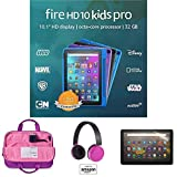 Fire HD 10 Kids Pro tablet, 10' HD (Doodle) with Kids Headset + Sleeve + Screen Protector