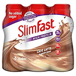 High protein meal replacement shake with vitamins and minerals One shake replaces one meal as part of the SlimFast 3.2.1 plan Each shake contains 204 cal Ideal if you want to meet your weight loss goal