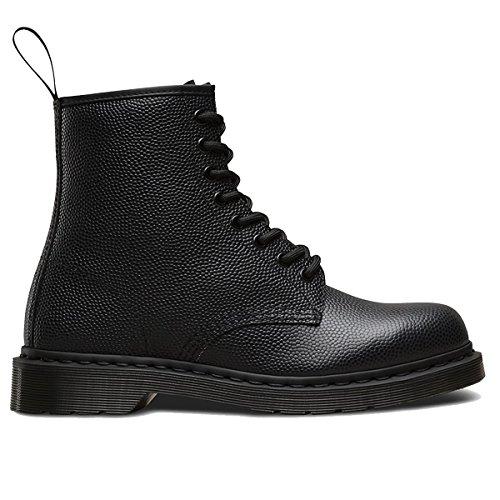 Dr.Martens Mens 1460 8 Eyelet Pebble Black Leather Boots 42 EU