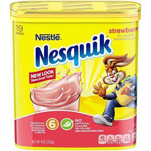 Nesquik Strawberry Powder Drink Mix 9.38oz