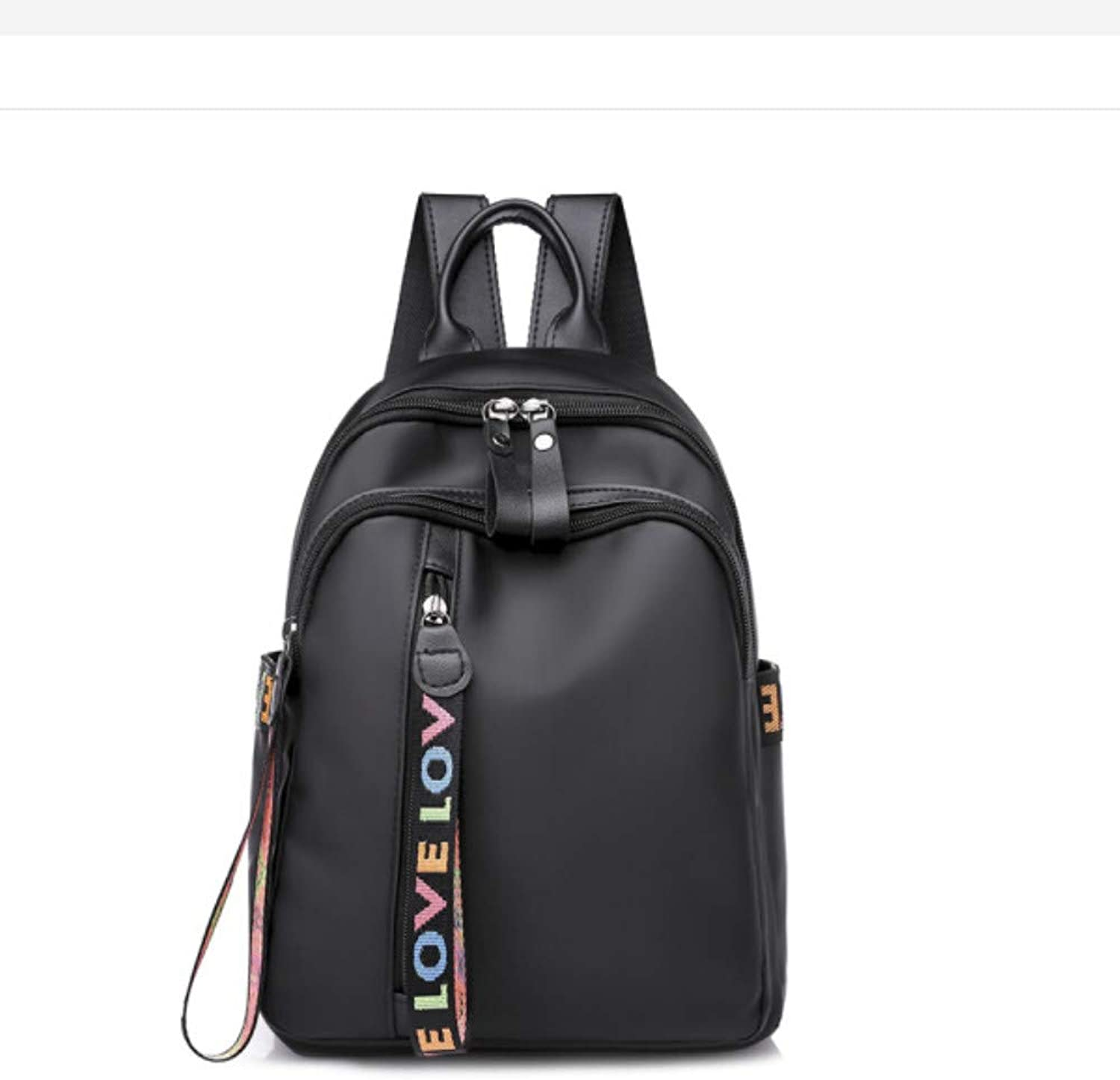 Bag Lady Backpack Trend Simple Backpack Female Fashion Student Bag Oxford Cloth