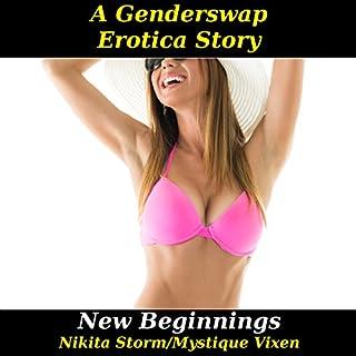 New Beginnings: Gender Swap Bareback Transformation Erotica audiobook cover art