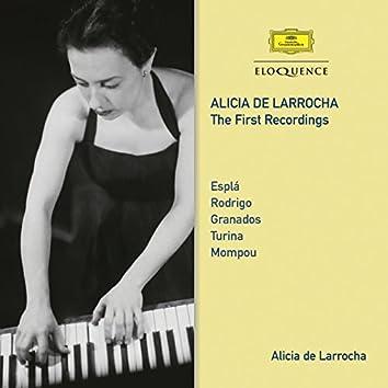 Alicia De Larrocha – The First Recordings