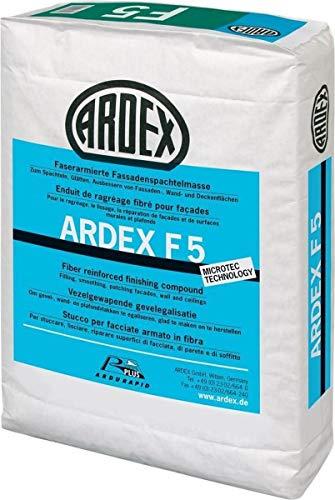ARDEX F 5 Faserarmierte Fassadenspachtelmasse (5 Kilogramm)