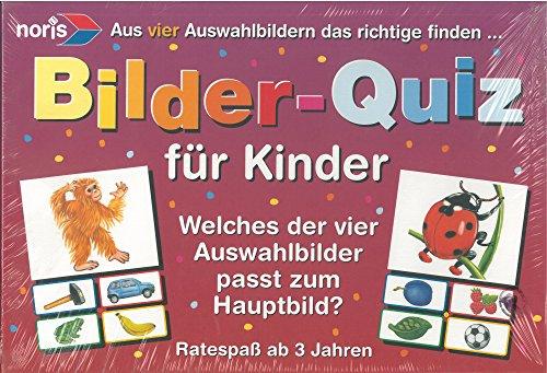 Noris Spiele 3597 Bilder-Quiz für Kinder