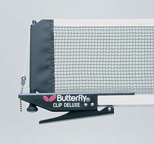 Review Butterfly Table Tennis Ping Pong Replacement Clip Deluxe Net & Post Set