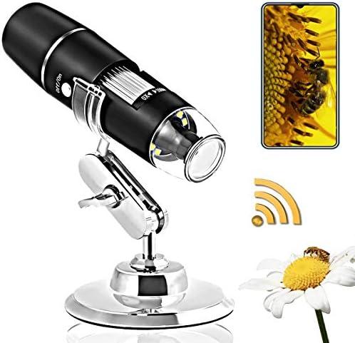 Wireless Digital Microscope Handheld 1080P HD WiFi USB Microscope 1000X Magnification Built product image