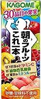 カゴメ 朝のフルーツこれ一本 200ml×24本入×3ケース 72本