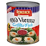 Rokeach Old Vienna Gefilte Fish '14 Count Bulk 6lb 4oz Can' Delicious Sweet Recipe