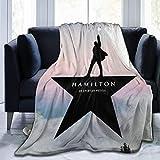 Hamil-Ton Blankets Super Soft Warm Faux Fur Throw Blanket -Ultra-Soft Micro Fleece Blanket Twin, Warm, Lightweight, Pet-Friendly, Throw for Home Bed, Sofa & Dorm