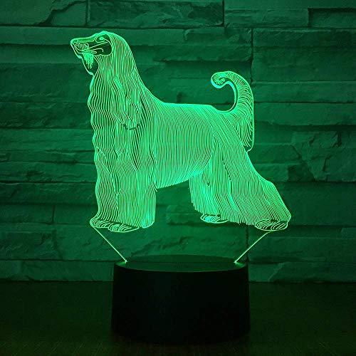 Nieuwe 3D kleine nachtkastje tafellamp kleurrijke Touch Control licht acryl slaapkamer creatieve sfeervolle tafellamp
