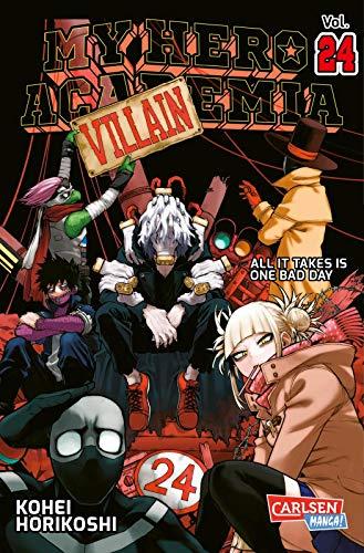 My Hero Academia 24: Die erste Auflage immer mit Glow-in-the-Dark-Effekt auf dem Cover! Yeah!