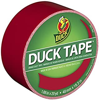 "Duck 1265014 1.88"" x 20 yd Cha Cherry Tape, 20 yards, Multicolor"
