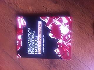 Mechanics of Engineering Materials: Solutions Manual