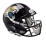 Riddell Casco deportivo unisex Jacksonville Jaguars Speed auténtico, negro, talla única