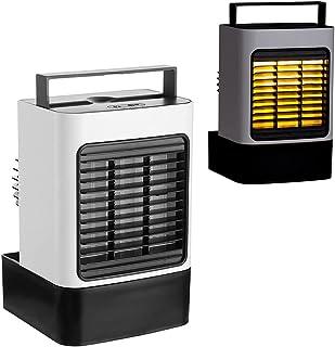 Bärbar luftkonditioneringsfläkt, personlig uppladdningsbar USB luftkylare | Mini evaporativ luftfuktare med 3 hastigheter ...