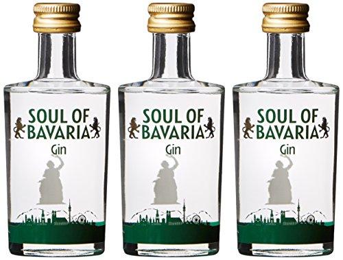 Soul of Bavaria Gin (3 x 0.05 l)