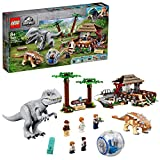 Jurassic World IndominusRexvs.AnkylosaurusSetde Dinosaurios conGirosfera, Multicolor (Lego ES 75941)