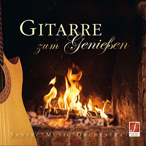 CD Gitarre zum Genießen - Schönste klassische Gitarrenmusik mit Orchester zum Entspannen