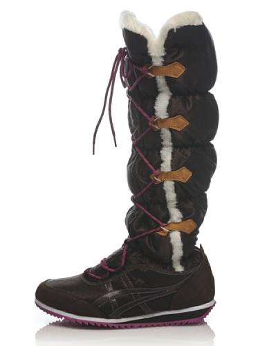 Onitsuka Tiger , Bottes de Neige Chaussures de Sport - Marron - Marrón, EUR 37 (US 6) EU