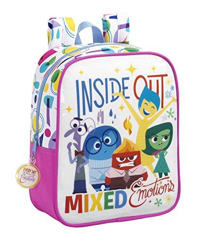 Safta Inside out Mochila Escolar, 27 cm, Multicolor