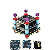 QWERTYUIOP F4 Mini Flight Controller Stack, 20X20mm Mini Flight Tower System F4 35A 2-6S 4 in 1 ESC for FPV Racing Drone Quadcopter