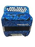 Accordéon Marionito Bleu / Notes : 31 / Boutons : 31 / Rang : 3 / Basses : 32