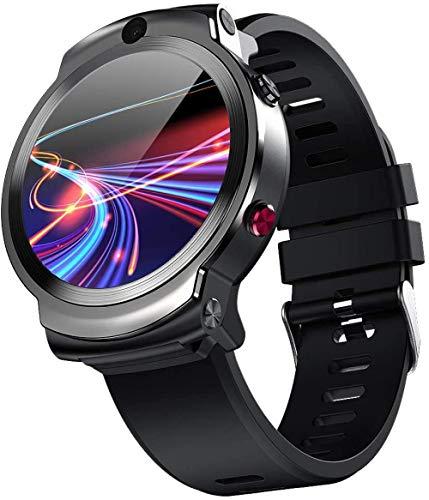 Reloj inteligente Fitness Dormir 1.6 pulgadas HD pantalla táctil 3+32 GB memoria 2MP+8MP cámaras 1280 mAh batería impermeable pulsera