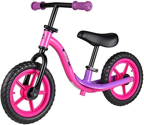 Albott Balance Bike Training Bike for 18 Months 2 3 4 and 5 Year Old Kids No Pedal 12 Push Bikes product image