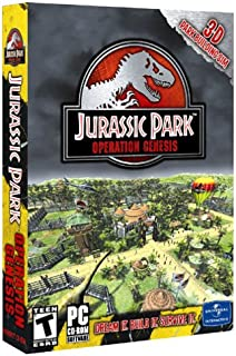 jurassic park operation genesis computer game