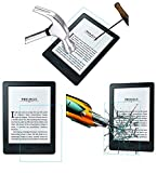 Acm Pack of 4 Tempered Glass Screenguard Compatible with Kindle Voyage 6' Screen Guard Scratch Protector