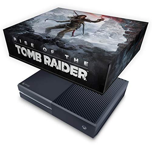 Capa Anti Poeira para Xbox One Fat - Rise Of The Tomb Raider